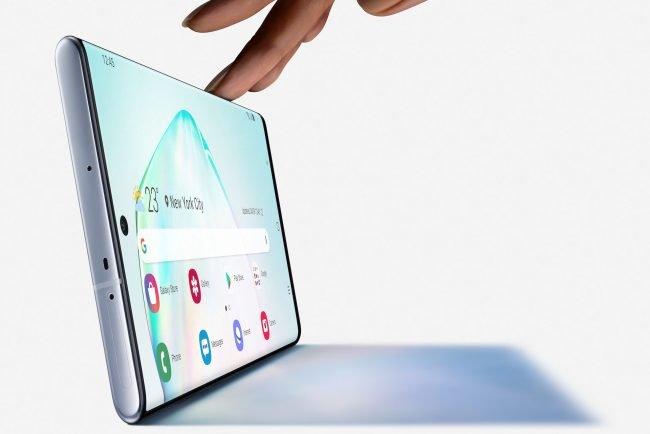 Galaxy Note 10 displej