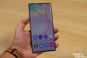 Samsung Galaxy Note 10 má skvělou ergonomii