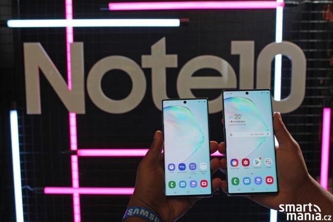 Samsung Galaxy Note 10 a Note 10+