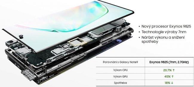 Note 10 procesor