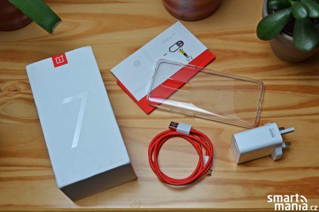 OnePlus 7 Pro a obsah balení