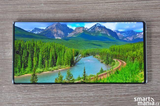 Samsung Galaxy Note+ HDR10+ displej