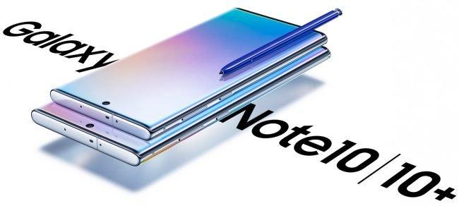 Samsung Galaxy Note 10 press