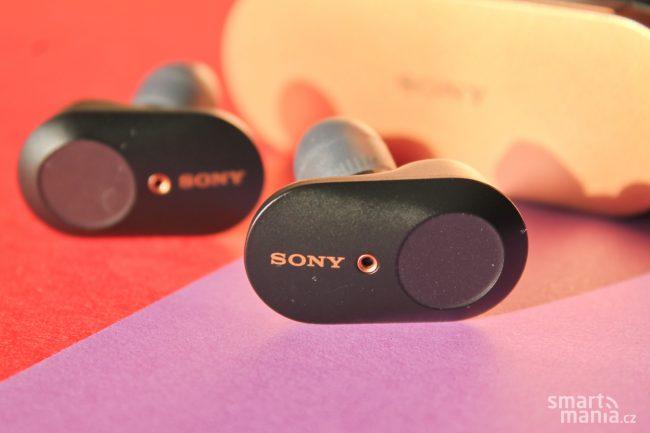 Sony WF 1000XM3 sluchatka 1