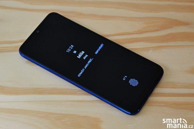 Xiaomi Mi A3 nabízí ambientní zobrazení