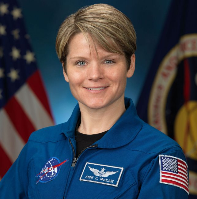 anne mcclain astronautka