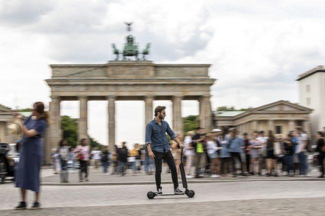 koloběžka audi e-tron scooter