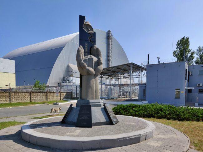 cernobyl pamatnik sarkofag