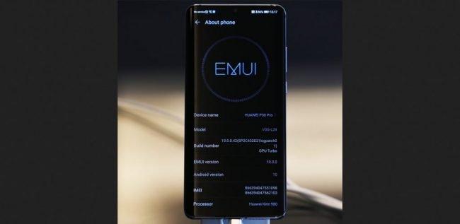 huawei p30 pro emui 10 beta