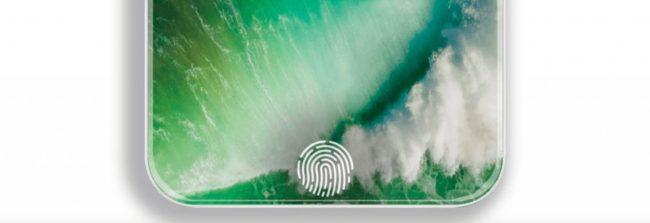 iPhone TouchID displej