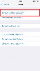 iphone nastaveni obnoveni 2