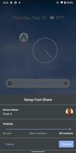 Fast Share - redesign sdílení souboru