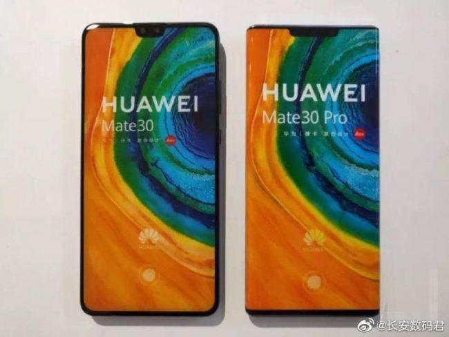 Huawei Mate 30 a Huawei Mate 30 Pro