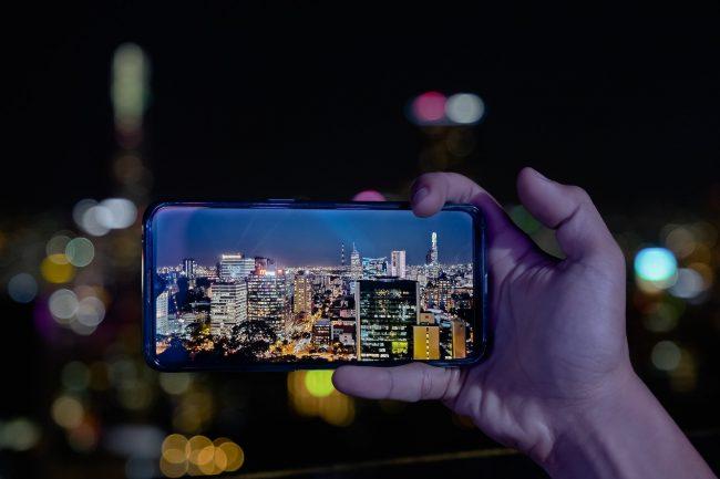 Opppo smartphone