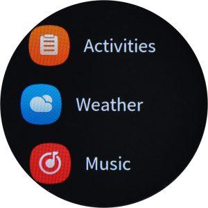 Xiaomi Amazfit GTR screen 06
