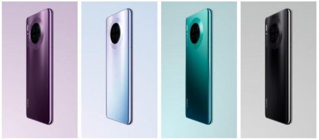 Huawei Mate 30 Pro barvy