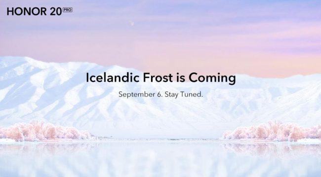 honor 20 Pro Icelandic frost 2