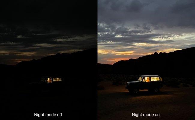 nocni rezim iphone 11