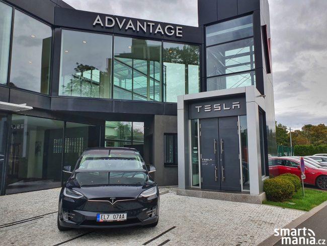Tesla Praha prodejna