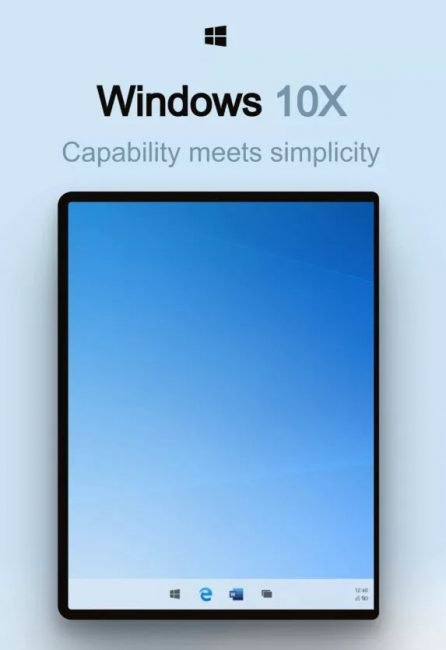 Windows 10x 1