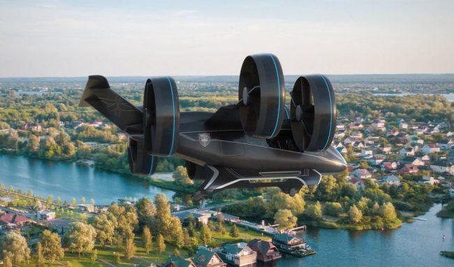 bell nexus flying car