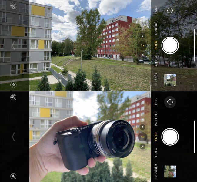 iphone 11 fotoaparat