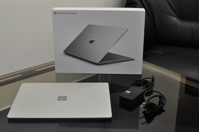 recenze surface laptop 2 4