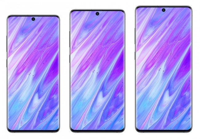 Samsung Galaxy S11e, S11 a S11+