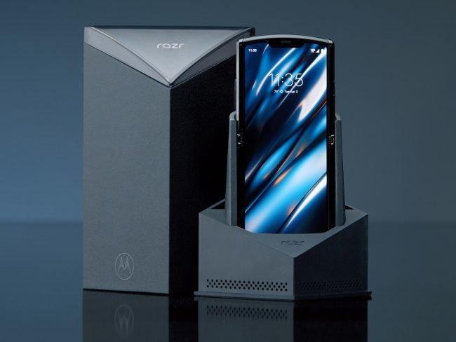 Motorola Razr baleni