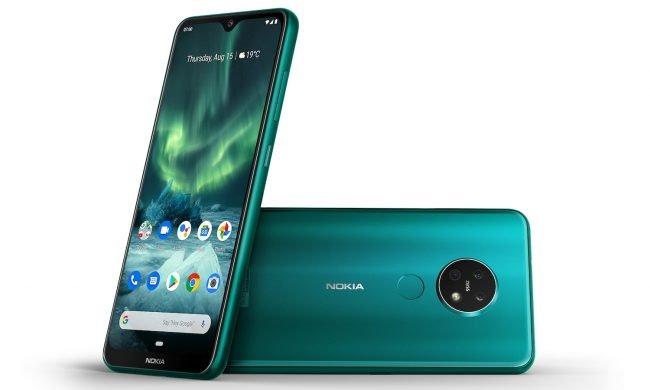 Nokia 7 2 green