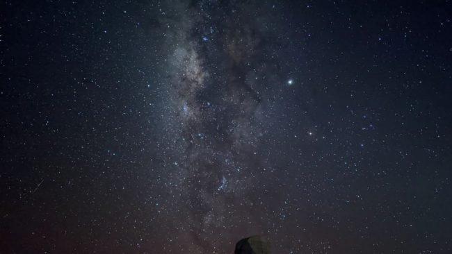 Pixel 4 night sky