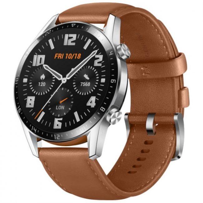 Huawei Watch GT 2 v barvě Pebble Brown