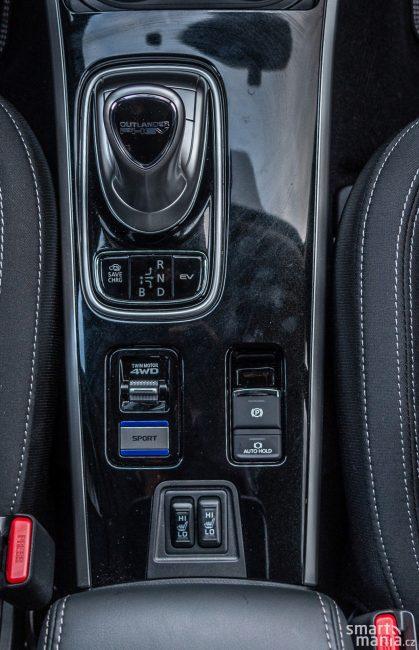 Kromě elektrických režimů volíte i mezi typu pohonu všech kol.