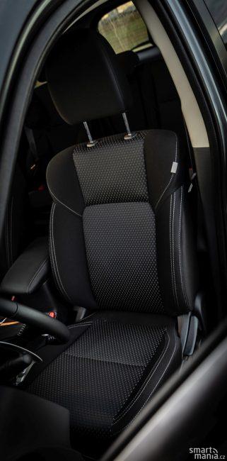 I základní sedadla nabízí vysoký komfort.