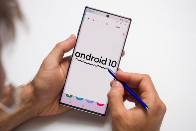 Note 10 Android 10