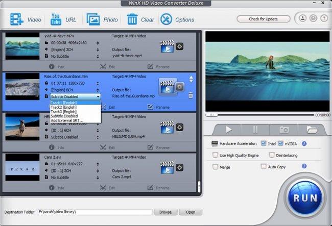 WinX HD Video Converter Deluxe 2