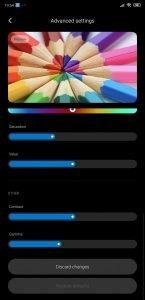Xiaomi MIUI 11 advanced display 3