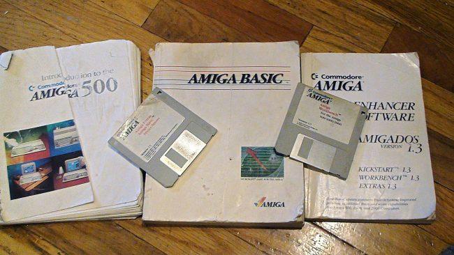Amiga 1 3 and disks