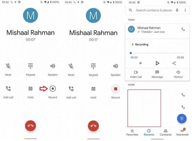 Android nahravani hovoru