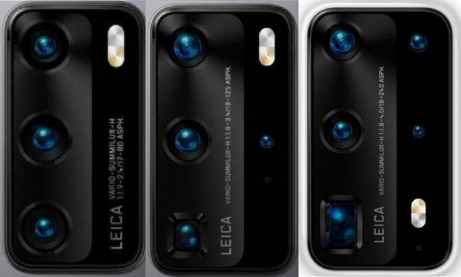 Huawei P40 camera setups 1
