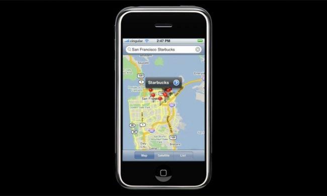 Oriignal iPhone Maps