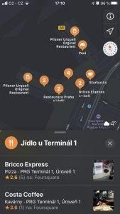 Praha Apple Maps 3