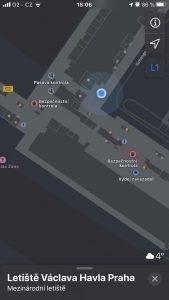 Praha Apple Maps 4