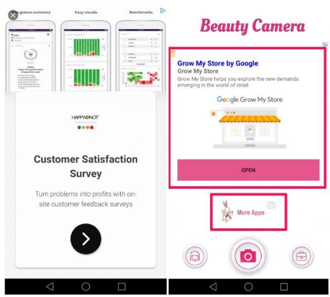 ads in beauty camera