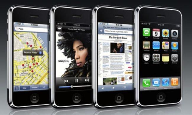 iPhone 2007 Hero Shot