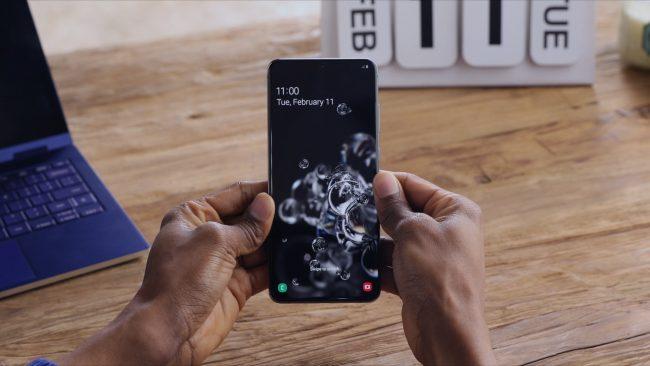 Galaxy S20 Ultra 1