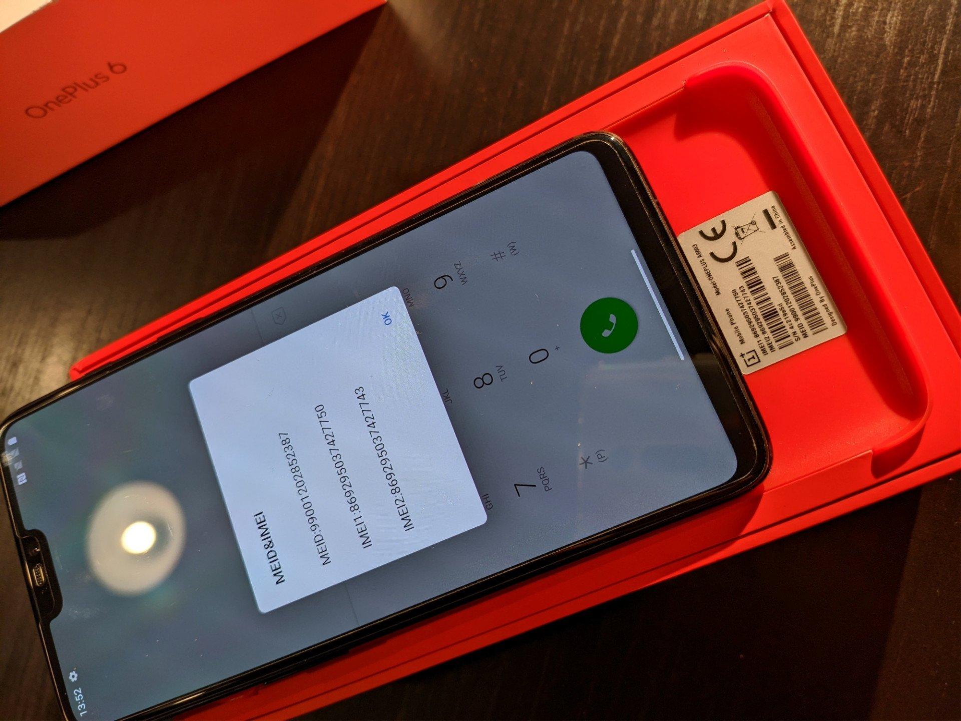 OnePlus 6 Mirror Black 6/64GB, CZ záruka-max