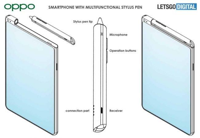 Oppo stylus patent