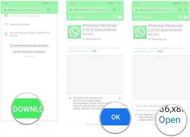 Tmavy rezim ve WhatsApp 03