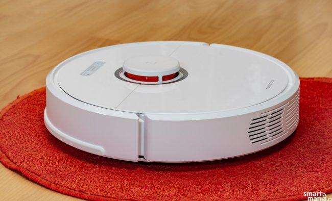 LIDAR v horní části vysavače je zárukou toho, že jen tak nebloumá po bytě, ale skutečně má strategii pohybu. A funguje to!
